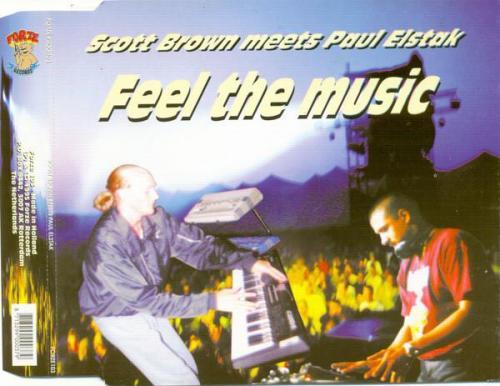 Scott Brown & Paul Elstak - Feel The Music (1995) [FLAC]