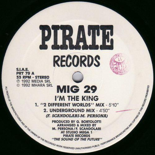 Mig 29 - I'm The King (1992) [FLAC]