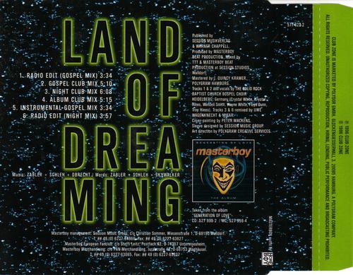 Masterboy - Land Of Dreaming (1996) [FLAC]
