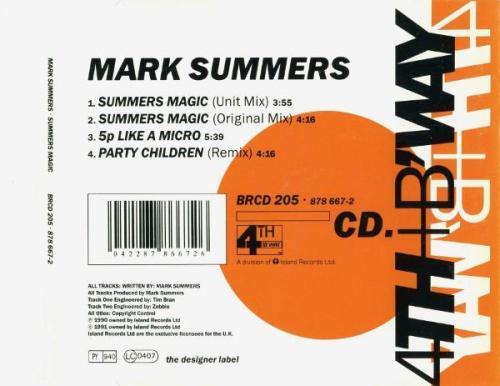 Mark Summers - Summers Magic (1991) [FLAC]