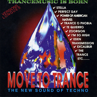 Move To Trance - The New Sound Of Techno (1993) [FLAC] lossless