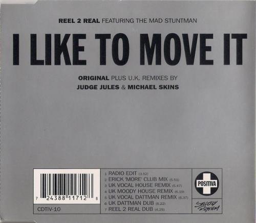 Reel 2 Real & The Mad Stuntman - I Like To Move It (1994) [FLAC]