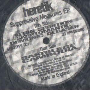 Heretik - Supressive Measures EP