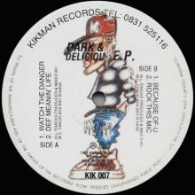 Bay-B-Kane - Dark & Delicious EP (1993) [FLAC]