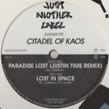 Citadel Of Kaos - Paradise Lost (Justin Time Remix)  Lost In Space (1996) [FLAC]
