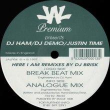 Dj Ham  Dj Demo  Justin Time - Here I Am Remixes By Dj Brisk (1997) [FLAC]