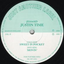 Justin Time - Sweet In Pocket (1995) [FLAC]