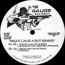 A Blunted Vision - Might Cause A Riot Remixes (1994) [FLAC]