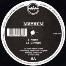 DJ Mayhem - Fierce / M-Power (1993) [FLAC]
