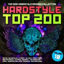 VA - Hardstyle Top 200 The Giga-Hardstyle Megamix Collection Vol. 10 (2017) [FLAC]