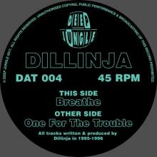 Dillinja - Breathe / One For The Trouble (2018) [FLAC]