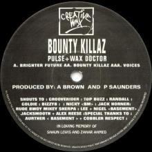 Bounty Killaz - Bounty Killaz - Part 1 (1993) [FLAC]
