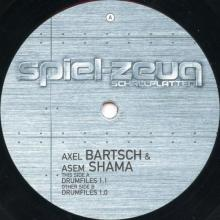 Axel Bartsch And Asem Shama - Drumfiles (2001) [FLAC]