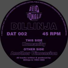 Dillinja - Another Dimension / Humanity (2017) [FLAC]