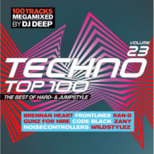 VA - Techno Top 100 The Best Of Hard And Jumpstyle Volume 23 (2016) [FLAC]