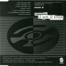 Cappella - U Got 2 Know (1993) (IDCR 2)