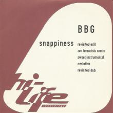 BBG - Snappiness (1996) [FLAC] download