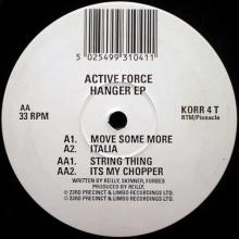 Active Force - Hanger EP (1993) [FLAC]
