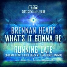 Brennan Heart - What's It Gonna Be / Running Late (2012) [WAV]