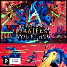 Pegboard Nerds & More Plastic - Manifest / Together (2020) [FLAC]