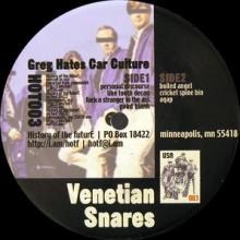 Venetian Snares - Greg Hates Car Culture (1999) [FLAC]