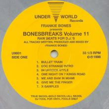 Frankie Bones - Bonesbreaks Volume 11 (1996) [FLAC]