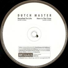 Dutch Master - Recalled To Life (2010) [FLAC]