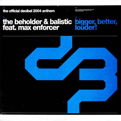 The Beholder & Balistic feat. Max Enforcer - Bigger, Better, Louder! (Original Mix) (2004) [FLAC]